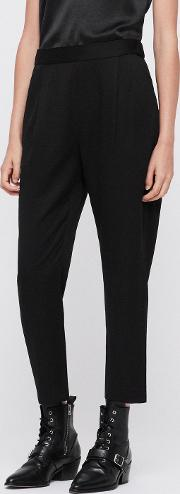 Aleida Tapered Mid Rise Trousers