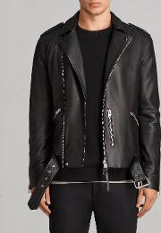 Kaho Leather Biker Jacket