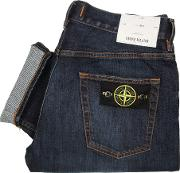 Re T Regular Tapered Jeans Navy