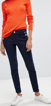 2ndday cropped sailor jeans