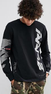 Aape By  Bathing  Long Sleeve  Shirt With Reflective Logo
