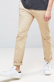 skinny stretch chino  beige