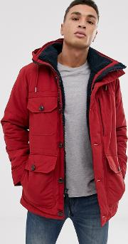 Trekking Hooded Parka Coat
