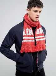 lon don knitted scarf