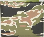 wallet with camo print