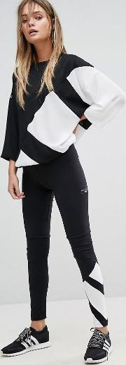 Originals Eqt Legging  Black And White