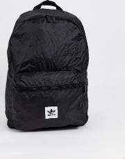 Mini Logo Backpack With Trefoil Pouch