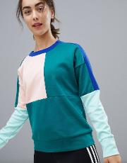 training colourblock sweatshirt