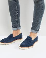 Jauquet Suede Penny Loafers