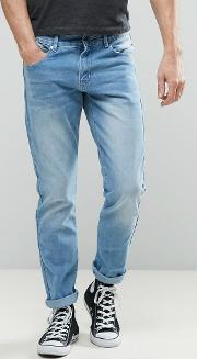 Clarence Slim Taper Jeans Light Wash