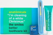 i'm cleaning for  white christmas toothcare kit