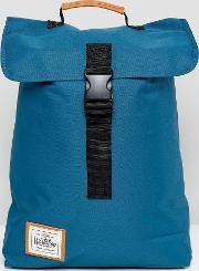 clip backpack in blue