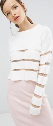 ladder to lust knit sweater