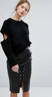 the reckoning knit sweater