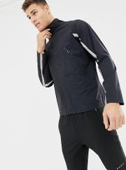 Jacket With Reflective Taping