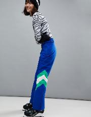 snowboard trouser with colourblock detail
