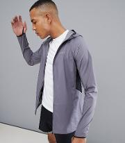 Tall Windbreaker With Breathable Mesh Panels