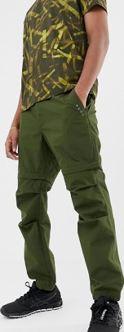 Trousers With Detachable Legs