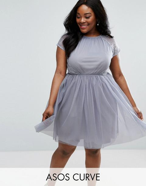 354b3799bbe1 Shop Asos Curve Prom Dress for Women - Obsessory