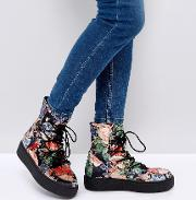 Alarna Lace Up Snow Boots
