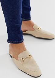 Backless Mule Loafer