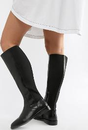 Cadence Leather Riding Boots
