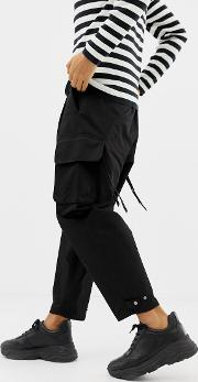 Cargo Trousers With Strapping