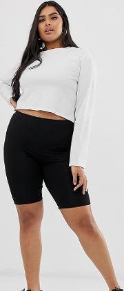Curve Basic Legging Shorts
