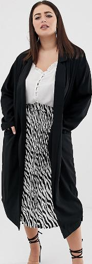 Curve Soft Duster Coat