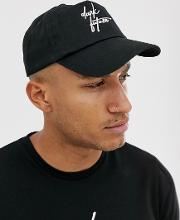 Dark Future Baseball Cap With Embroidery
