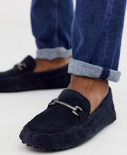 Driving Shoes Suede With Snaffle