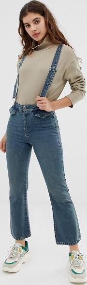 Egerton Cropped Kick Flare Jeans