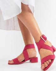 Federal Wide Fit Flat Sandals