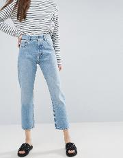 Florence Authentic Straight Leg Jeans