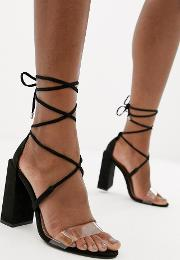 Hadley Barely There Block Heeled Sandals