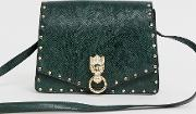 Hardware Satchel With Stud Detail