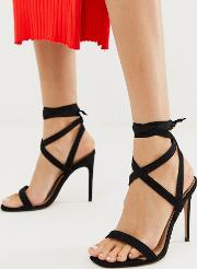 Hollis Barely There Heeled Sandals