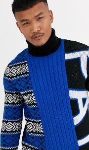 Jumper With Roll Neck