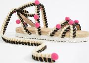 Just Play Pom Sandals Espadrilles