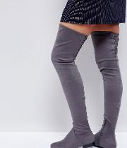 Kasba Flat Over The Knee Boots