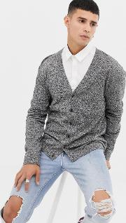 Knitted Cotton Cardigan