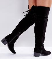 Kobra Wide Fit Suede Over The Knee Boots