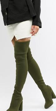 Koko Knitted Thigh Boots