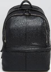 Leather Harvard Backpack