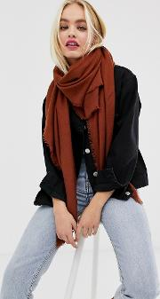 Lightweight Recycled Polyester Scarf