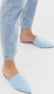 Lorne Pointed Mules