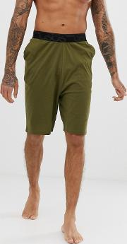 Lounge Pyjama Shorts With Drop Crotch