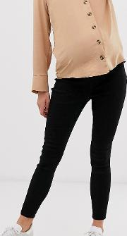Maternity Pull On Jegging Clean With Under The Bump Waistband
