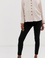Maternity Ridley High Waisted Skinny Jeans Clean With Over The Bump Waistband