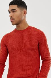 Muscle Fit Lightweight Cable Jumper